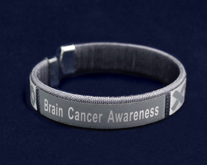 Brain Cancer Awareness Bangle Bracelets